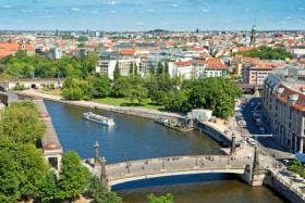 Blick über das neue Berlin