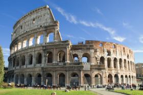 Das Colosseum in Rom ist beliebter Touristenspot
