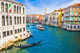 Der Canale Grande in Vendig
