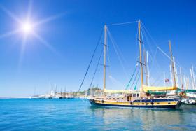 Mit schönen Segelschiffen das östliche Mittelmeer erleben - kein Problem in der Türkei