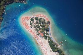 Lagune von Oludeniz in der Türkei