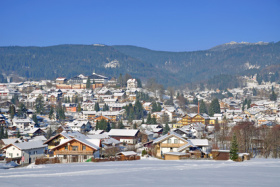 Bodenmais in Bayern in Winterpracht