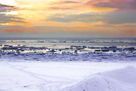 Winterstimmung an der Nordsee