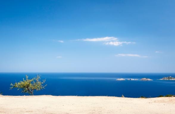 Ausblick aufs Mittelmeer