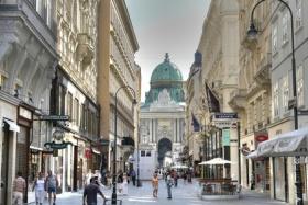 Die Altstadt von Wien ist vom Jugendstil geprägt